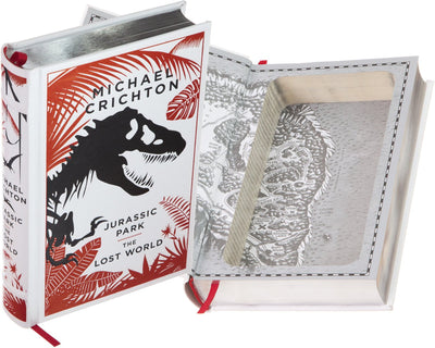 Hollow Book Safe: Jurassic Park: The Lost World by Michael Crichton (Leather-bound)
