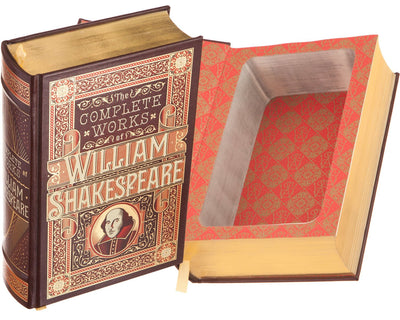 The Complete Works of William Shakespeare (Leather-bound)