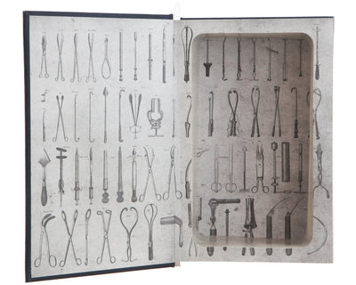 Hollow Book Safe: Gray's Anatomy by Henry Gray, F.R.S. with Drawings by H.V. Carter, M.D. (Leather-bound)