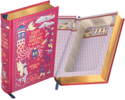Fairy Tales from Around the World by Andrew Lang (Leather-bound)