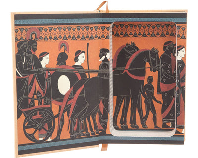 The Iliad and the Odyssey by Homer (Leather-bound)