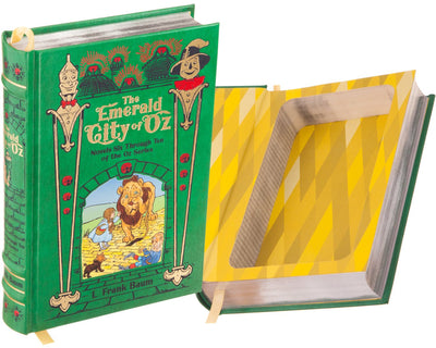 The Emerald City of Oz by L. Frank Baum (Leather-bound)