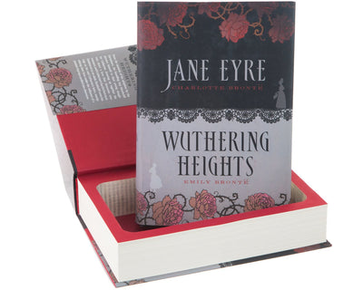 Jane Eyre and Wuthering Heights by Charlotte and Emily Bronte