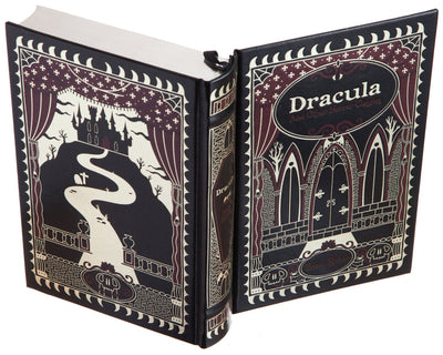 Dracula and other Horror Classics by Bram Stoker (Leather-bound)