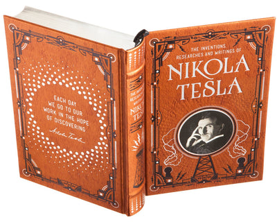 Nikola Tesla, The Inventions Researches and Writings of (Leather-bound)