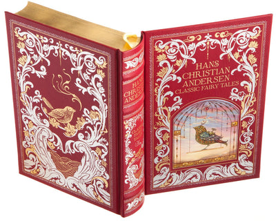 Hans Christian Andersen - Classic Fairy Tales (Leather-bound) (Flask Included)