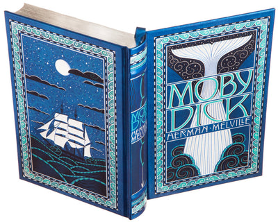 Hollow Book Safe: Moby Dick by Herman Melville (Leather-bound)