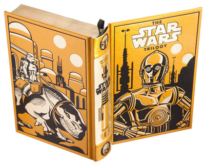 Star Wars by George Lucas (Gold - C3PO Special Ed.) Leather-bound)