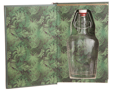 Tarzan of the Apes by Edgar Rice Burroughs (Leather-bound) (Flask Included)