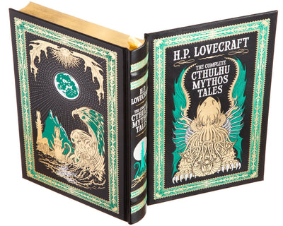H.P. Lovecraft - The Complete Cthulhu Mythos Tales (Leather-bound)