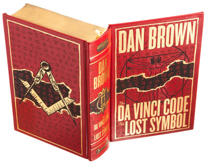 The Da Vinci Code - The Lost Symbol by Dan Brown (Leather-bound)