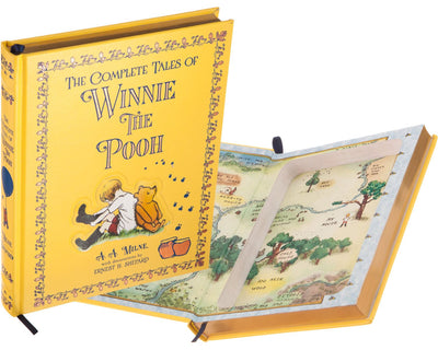 Hollow Book Safe: Winnie the Pooh by A.A. Milne (Leather-bound)