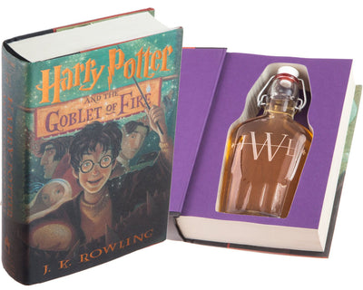 Harry Potter and the Goblet of Fire by J.K. Rowling (Flask Included)