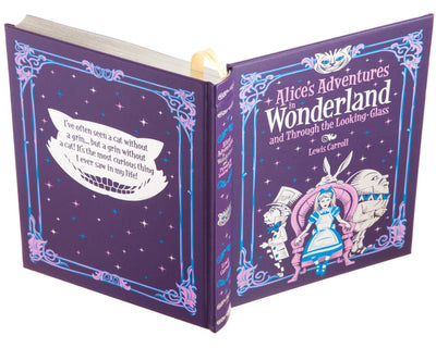 Ring Bearer with Pillow - Alice's Adventures in Wonderland by Lewis Carroll (Leather-bound)