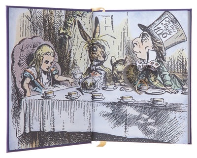 Ring Bearer - Alice's Adventures in Wonderland by Lewis Carroll (Leather-bound)