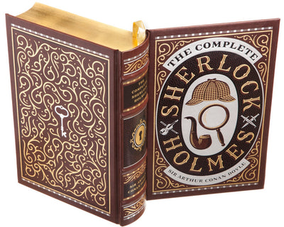 Hollow Book Safe: Sherlock Holmes by Sir Arthur Conan Doyle (Leather-bound)