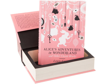 Hollow Book Safe: Alice's Adventures in Wonderland by Lewis Carroll