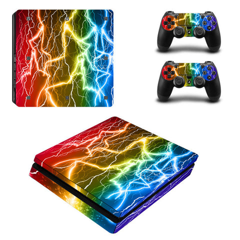 Colorful Vinyl For PS4 Slim Sticker