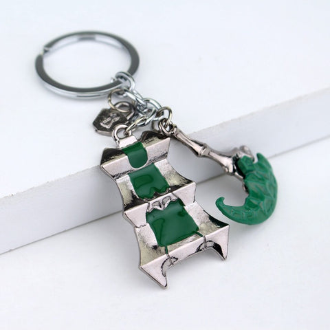 The Lantern Keychain-Necklace