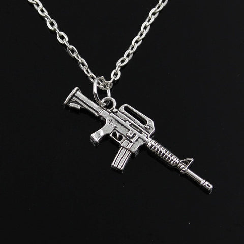 M16 Short Rifle Neckalce