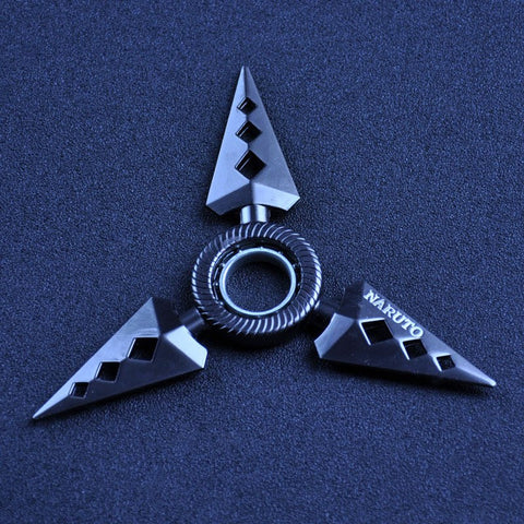 BLUE TRIANGULAR SHURIKEN