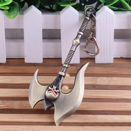The Skeleton Axe Keychain