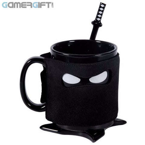 Ninja Ceramic  Mug Black Mask - HOT NOW!