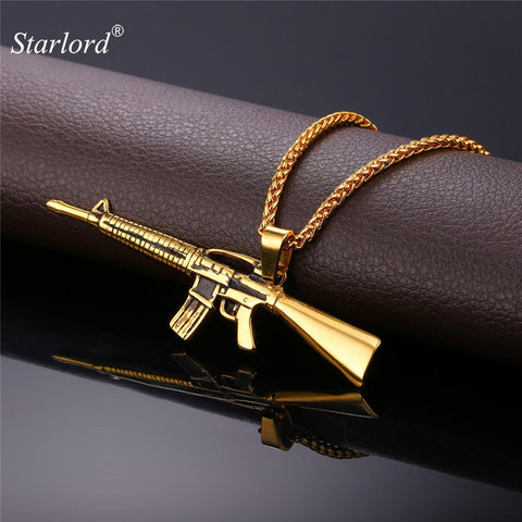 M16 Long  Rifle Neckalce