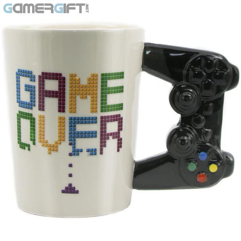 Game Over Ceramic Mug - A must for every gamer!