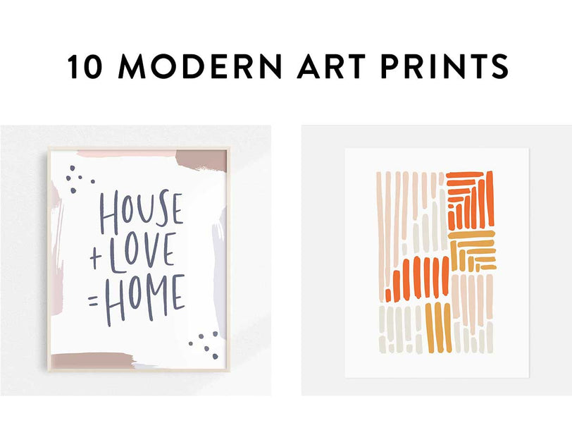 Modern Art Prints for your Living Room Walls
