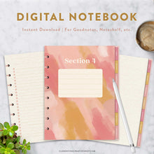 digital notebook for goodnotes