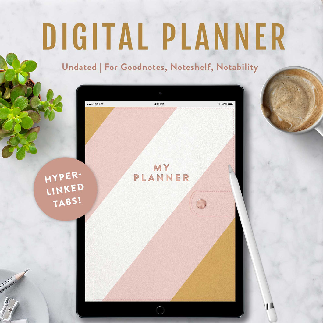 The Stylish Digital Planner | iPad Planner for Goodnotes, Noteshelf