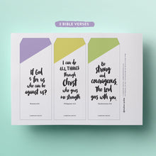 printable Bible verse top tab dividers for your planner