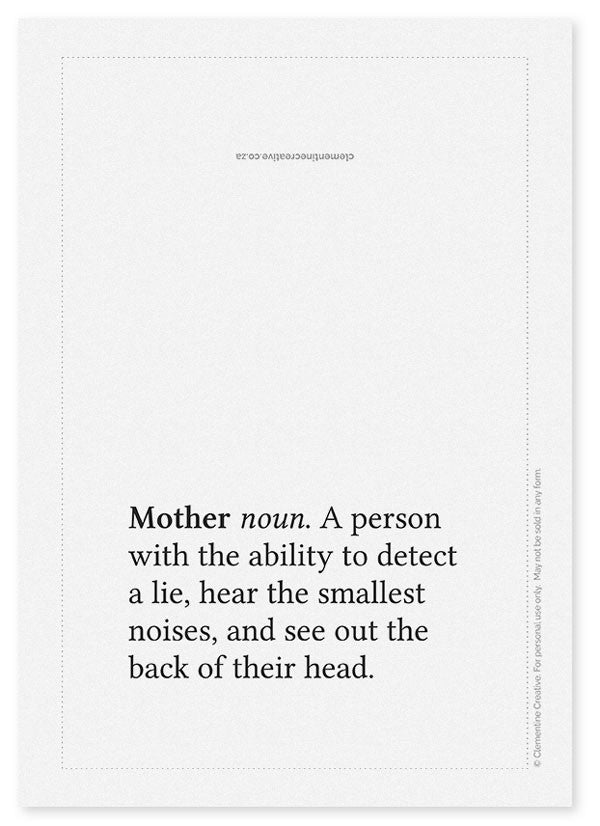 picture about Funny Printable Mothers Day Cards identify Printable Moms Working day Card - Definition