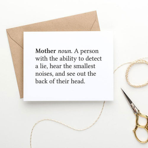 funny printable mother's day card