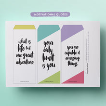 printable quote top tab dividers for your planner