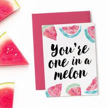 printable watermelon birthday card