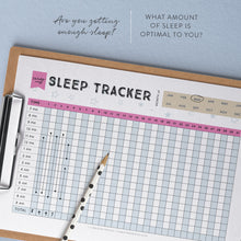 printable sleep tracker chart