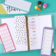 Printable Top Tab Dividers for Planners, Diaries and Agendas