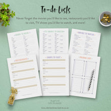 The Inspired Life Planner - Printable Life Planner PDF