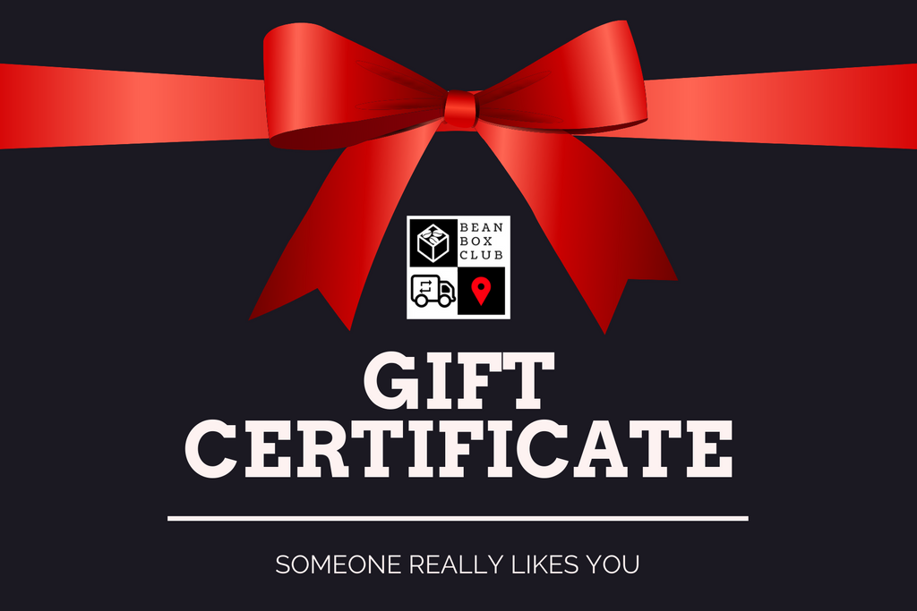 Bean Box Club Gift Certificate
