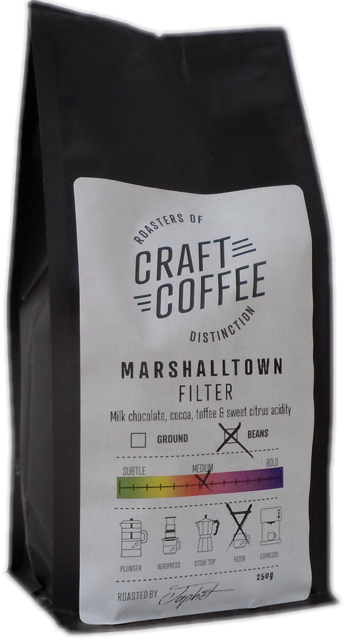 Primo Box of Marshalltown Filter Coffee l Craft Coffee