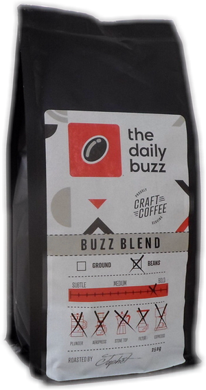 Primo Box of Daily Buzz l Craft Coffee