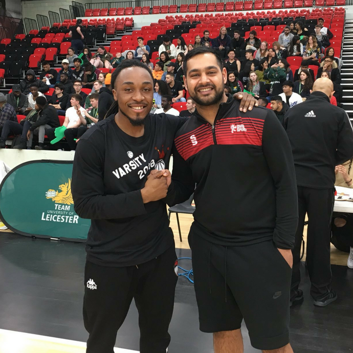 Clean Sweep for Leicester Riders Foundation Coaches at Leicester Varsity 2018