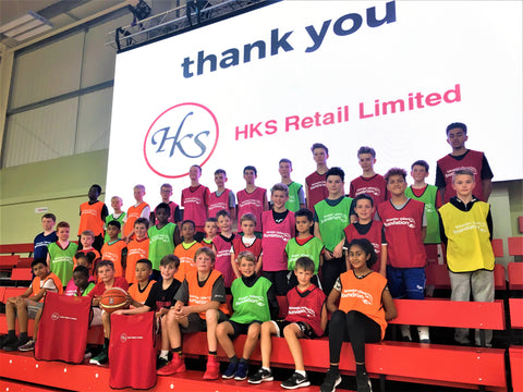 HKS Retail ltd - Leicester Riders Foundation - Bibs