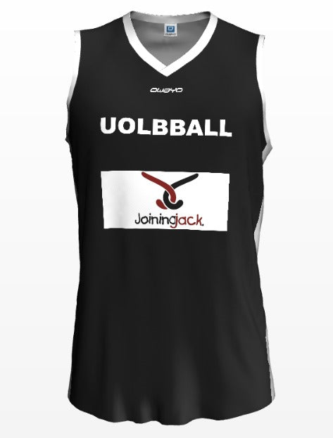 "University of Leicester ""Joining Jack""- Black and Red Reversible Training Jersey"