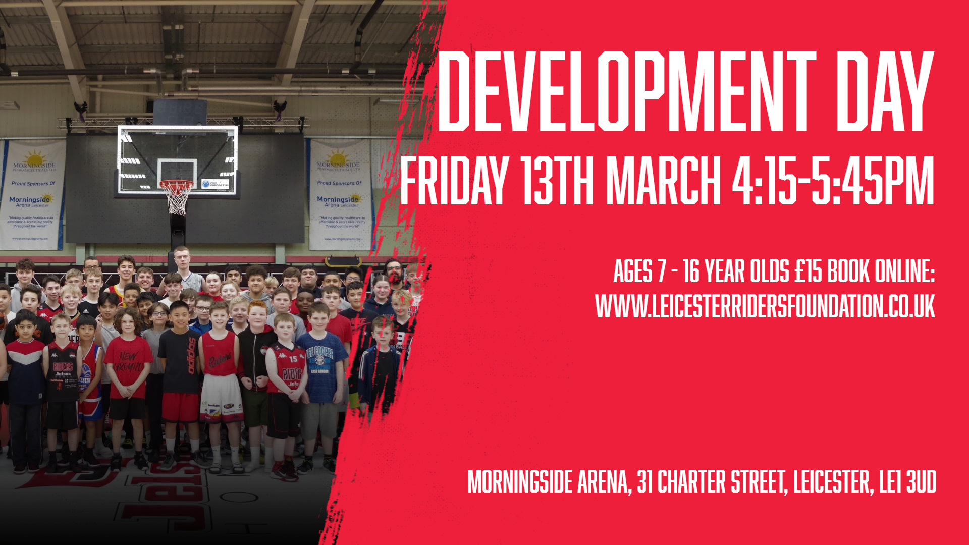 March 13th 2020 Development Day Leicester Riders V Manchester Giants