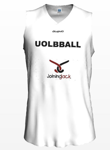 "University of Leicester  ""Joining Jack"" - White Training Jersey"