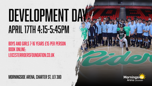 April 17th 2020 Development Day Leicester Riders V London City Royals