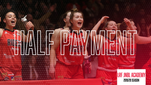 Leicester Riders JNBL Girls Academy Half Membership Payment